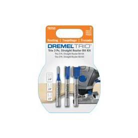 Dremel 3-Count Tungsten Carbide Router Bits