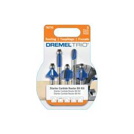 Dremel 5-Count Silicon Carbide Router Bits