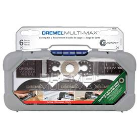 Dremel 6-Pack Bi-Metal Oscillating Tool Blades