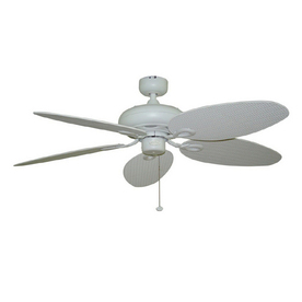 Harbor Breeze 52-in Tilghman Matte White Outdoor Ceiling Fan ENERGY STAR