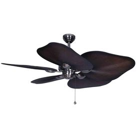 Harbor Breeze Baja 52-in Polished Pewter Multi-Position Indoor Ceiling Fan