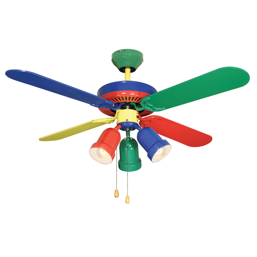 Shop Harbor Breeze 42 Quot Rainbow Ceiling Fan At Lowes Com