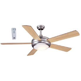 Harbor Breeze 52-in Aero Ceiling Fan with Light Kit and Remote