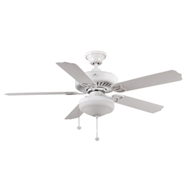 Harbor Breeze 52-in Calera Outdoor Ceiling Fan with Light Kit