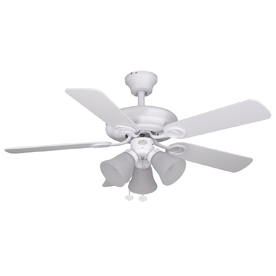 Harbor Breeze Ocracoke 42-in Multi-Position Ceiling Fan with Light Kit