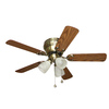 Harbor Breeze 42-in Cheshire II Antique Brass Ceiling Fan with Light Kit