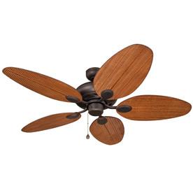 Harbor Breeze Tilghman 52-in Aged Bronze Multi-Position Indoor/Outdoor Ceiling Fan ENERGY STAR