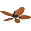 Harbor Breeze 52-in Tilghman Aged Bronze Outdoor Ceiling Fan ENERGY STAR