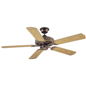 Litex 52-in All Weather Copperstone Outdoor Ceiling Fan