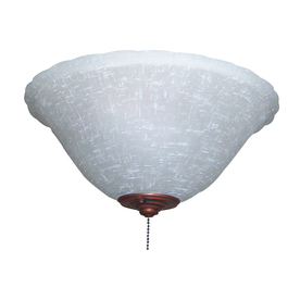Harbor Breeze 2-Light Multiple Finials A-15 Frosted Candelabra Base Ceiling Fan Light Kit
