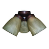 Harbor Breeze 3-Light Antique Bronze Ceiling Fan Light Kit with Bell Shade