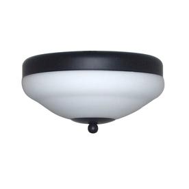 Harbor Breeze 2-Light Matte Black Compact Fluorescent Ceiling Fan Light Kit