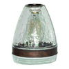 Portfolio 7.5-in H x 6-in W Clear Glass Mix and Match Mini Pendant Light Shade