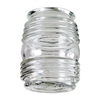 Litex 3-1/4&#034; Clear Jelly Jar Glass