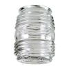 Litex Clear Round Glass Shade