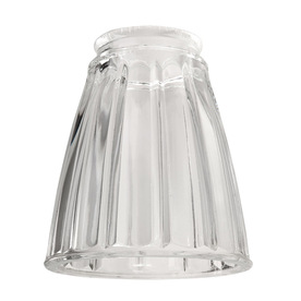 Shop Harbor Breeze 4-in Clear Vanity Light Glass at Lowes.com
