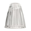 Harbor Breeze 4-in Clear Vanity Light Glass
