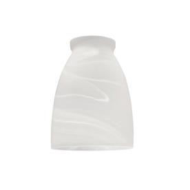 Litex 3-3/4-in White Vanity Light Glass