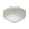 Harbor Breeze 9-in Frosted Vanity Light Glass