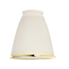 Harbor Breeze 4-1/4-in Frosted Vanity Light Glass