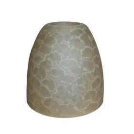 Portfolio 4-7/8-in Amber Vanity Light Glass
