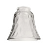 Litex 4-7/8-in Clear Vanity Light Glass