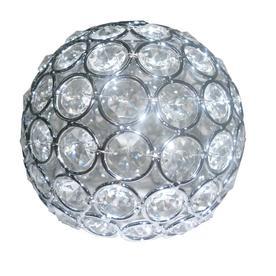 Portfolio Ladura 4.75-in Crystal Vanity Light Shade