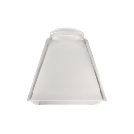 "Litex 2-1/4"" Frost Polished Square Glass"