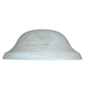 Litex White Round Alabaster Glass Shade