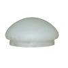 Litex White Round Frosted Glass Shade