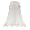Harbor Breeze 4-1/4-in Frosted Clear Vanity Light Glass