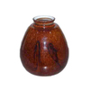 "Litex 2-1/4"" Red Brown Design Glass"