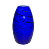 Portfolio 7-3/4-in H x 4-5/8-in W Blue Glass Mini Pendant Shade