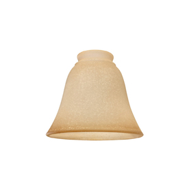 Litex Tea Stain Bell Frosted Glass Shade