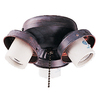 Harbor Breeze 4-Light Copperstone Candelabra Base Ceiling Fan Light Kit