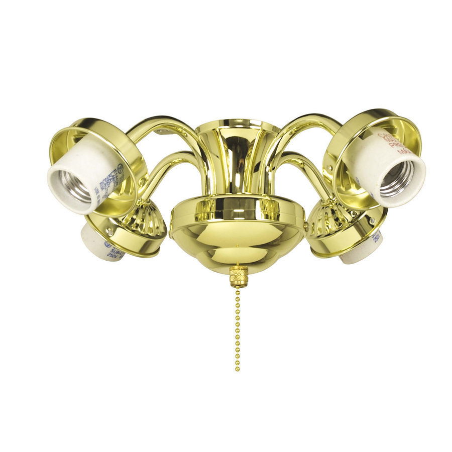 Hunter Allendale 52 Antique Brass Ceiling Fan At Menards: Lowes Ceiling Fan Light Kits