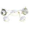 Harbor Breeze 4-Light White Ceiling Fan Light Kit with Shade Not Included Glass or Shade