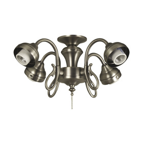 Harbor Breeze 4-Light Antique Nickel Ceiling Fan Light Kit