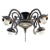 Harbor Breeze 4-Light Copperstone Ceiling Fan Light Kit with Shade Not Included Glass or Shade