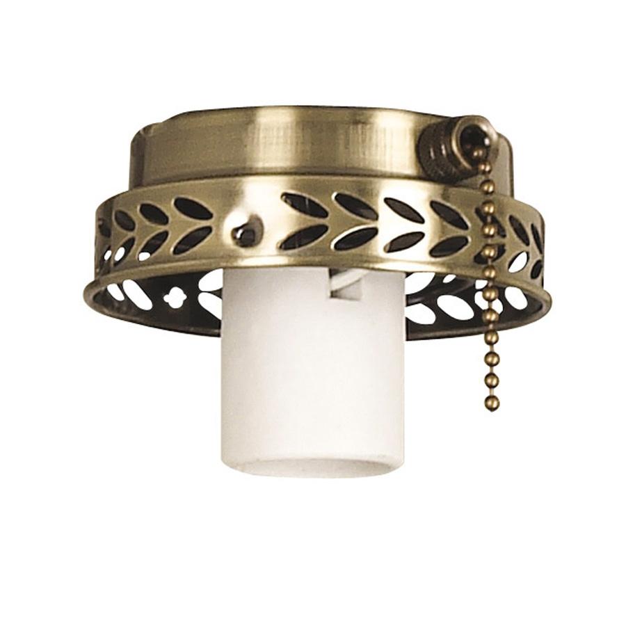 Old Ceiling Fan Parts : Shop harbor breeze light antique brass ceiling fan