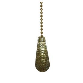 Harbor Breeze Brass Teardrop Pull Chain