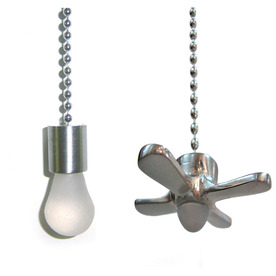 Harbor Breeze Brushed Nickel Pull Chain