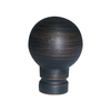 Portfolio Aged Bronze Lamp Finial