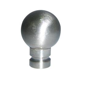 Portfolio Brushed Nickel Lamp Finial