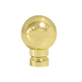 Portfolio Polished Brass Lamp Finial