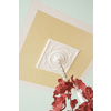 Portfolio White Ceiling Fan Medallion