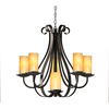 allen + roth 6-Light Bronze Chandelier