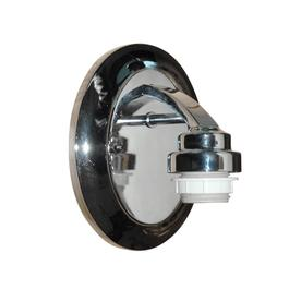 Portfolio 5.12-in W 1-Light Chrome Arm Hardwired Wall Sconce
