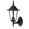 Portfolio 13-3/8-in H Matte Black Outdoor Wall Light