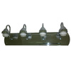 Portfolio 4-Light Mix and Match Chrome Bathroom Vanity Light